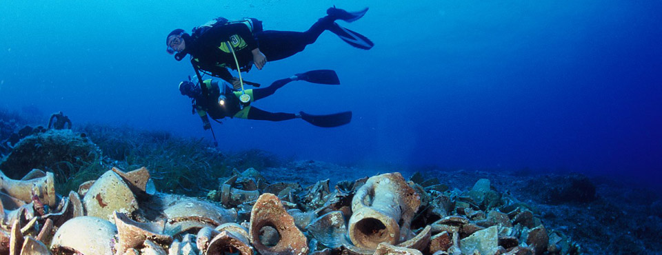 Víz alatti régészet szakosztály